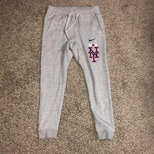 Nike Baseball New York Mets Jogger Sweatpants Grey Men's Size Medium N804-06G