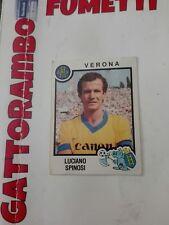 Figurine Calciatori  - N.337 Spinosi Verona  Con Velina- Anno 1982-83 Panini