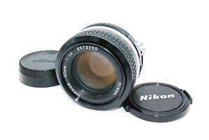 Nikon Ai NIKKOR 50mm f1.4 MF Lens from Japan Excellent