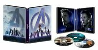 Avengers endgame 4K UHD + Blu-Ray + Digital HD steelbook