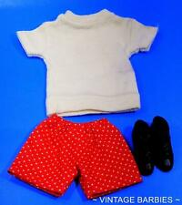 Ken Doll In Training #780 Shorts Shirt & Boots MINTY ~ Vintage 1960's