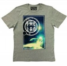 Doctor Who Mens Cosmic T Shirts Time Lord Designs Small Grey A333-19