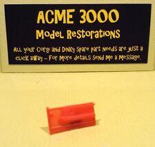 CORGI 343 PONTIAC FIREBIRD reproduction en plastique rouge main droite porte carte Panneau