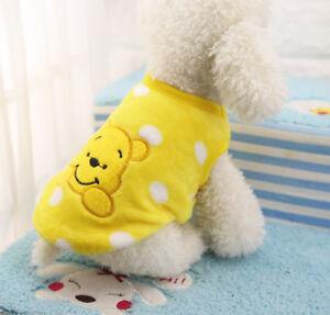 XXXS XXS XS Small Dog Hoodie Warm Fleece Coat Clothes for Pet Chihuahua Maltese