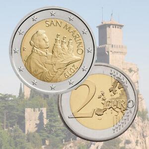 2 Euro Saint Marin 2019 Pièce annuelle de Circulation NOUVEAU PROMO OCTOBRE!!!!!