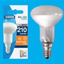 10x 6W (=40W) R50 Reflector Spotlight SES E14 Edison Screw LED Light Bulb Lamp
