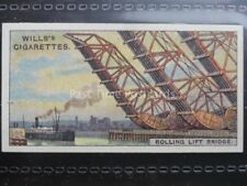 No.3 ROLLOING LIFT BRIDGE, USA Engineering Wonders W.D.& H.O. Wills 1927