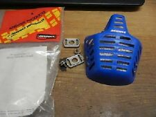 NOS Answer Helmet Mouth Guard Mouthguard Blue Vintage AHRMA VMX Yamaha Suzuki