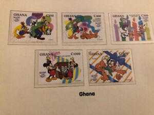 Disney World of Postage Stamps - Donald Duck's 60th Birthday