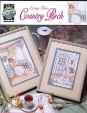Swing Time Country Porch True Colors NEW Cross Stitch Pattern Booklet