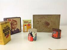 stock 6 Scatole latta canister elah introvabili collezionismo doci caffe scatole