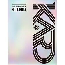 KARD - [Hola Hola] 1st Mini Album CD+80p Photobook+2p Photocard K-POP Sealed