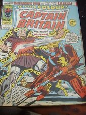 MARVEL COMICS CAPTAIN BRITAIN - 29 DECEMBER 1976 # 12 DR SYNNE NICK FURY SHIELD