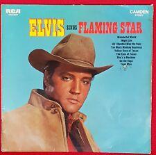 """12"""" Elvis Presley !Flaming Star"""