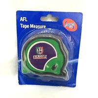 FREMANTLE DOCKERS AFL OFFICIAL FOOTY 8m TAPE MEASURE BUILDERS MEASURING TAPE