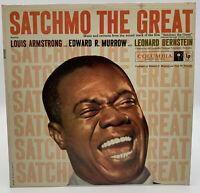Louis Armstrong LP Record Still Sealed Edward R Murrow Columbia 6 Eye Satchmo 20