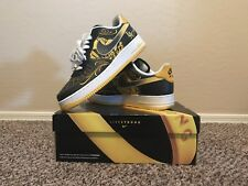 NIKE AIR FORCE 1 LOW SUP TZ LAF MR CARTOON LIVESTRONG 2009 **100% Authentic**