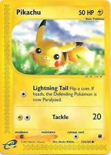PIKACHU 124/165 Expedition Pokemon Card  EX