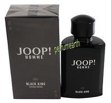 Joop! Homme Black King 4.2 oz./125ml Edt Spray For Men New In Box New Launch