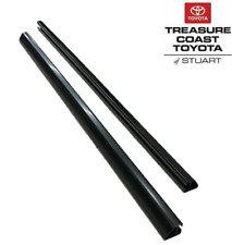 NEW OEM FACTORY TOYOTA 4RUNNER BLACK ROOF RAIL UPGRADE 2 PIECE SET(RAILS ONLY)