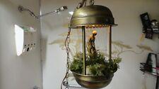 Vintage 60's Oil Rain Hanging Light Lamp w/Venus Statue Works Greek Goddess RARE