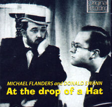 MICHAEL FLANDERS & DONALD SWANN - AT THE DROP OF A HAT (NEW SEALED CD)