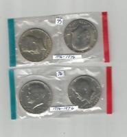 1976 P&D Kennedy Half Dollars