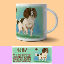 Springer Spaniel Descriptive Dog Mug Gift/Present