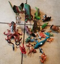 Lot of  Plastic Safari Farm and Dinosaur PLAY ANIMALS