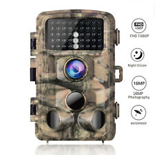 Campark Wildkamera 16MP Trail Camera HD 1080P Jagdkamera Fotofalle IR Nachtsicht