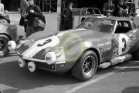 Photo Le Mans 24 Hours 1968 Chevrolet Corvette C3 Umberto Maglioli Henri Greder