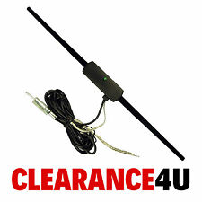 Car Stereo Radio Internal Glass Windscreen Mount Amplified Aerial Antenna