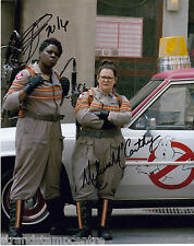 """Ghostbusters (2016) Colour 10""""x 8"""" Double Signed Photo - UACC RD223"""