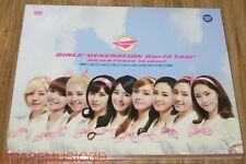 GIRLS' GENERATION SNSD WORLD TOUR GIRLS & PEACE IN SEOUL DVD + PHOTOBOOK +POSTER