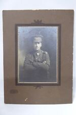 WW1 ERA AUSTRALIAN ARMY SOLDIER DIGGER STUDIO PHOTOGRAPH 1915