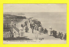 CLIFTONVILLE,  KENT - LOUIS LEVY POSTCARD NO. 30  -  QUEEN'S  PROMENADE  -  1914