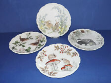 More details for royal albert bone china * 4 collectors plates * the country walk collection *