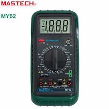 Mastech My62 Digital Multimeter Dmm Temperature Capacitance Amp Hfe Testers Meters