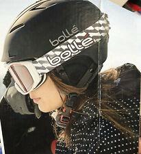 Bolle Vented Medium 55-57cm Headsize Sport Snowboard Ski Helmet + Carrying Bag b