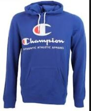 Mens Champion Big Logo Hoody in Blue From Get The Label M 211395BVUBLU246