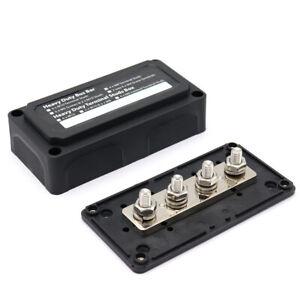 Heavy-Duty Module Design Bus-Bar Box Terminal Board 300A UK Stock K8N1