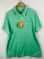 PENGUIN Mens Polo Shirt SCOOTER MOD MUNSING WEAR Short Sleeve SLIM Fit XL P27