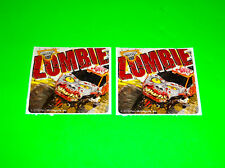 MONSTER JAM ZOMBIE MONSTER TRUCK STICKERS DECALS # 1