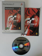 GRAN TURISMO 3 A-SPEC - PLAYSTATION 2 - JEU PS2 PLATINUM COMPLET