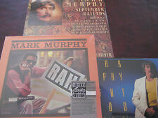 MARK MURPHY - RAH -  RARE 1984 FANTASY RECORDS FACTORY Sealed LP WITH STICKER