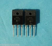 2PCS 2SB1255 Silicon PNP epitaxial planar type Darlington power transistor