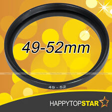49mm to 52mm 49 - 52 mm Male to Female Step-Up Lens Filter CPL ND Ring Adaptor