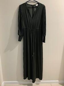 Witchery Olive Jumpsuit Size 10 VGC