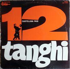 VINILE LP 33 GIRI RPM 12 TANGHI CASTELLINA-PASI ZSKE 55370 ITALY 1973