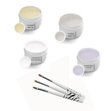 UV Gel Set Classic inkl. Pinselset 5ml - Nagelmodellage Gelnägel UV Gele